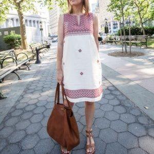 Madewell stitch mosaic dress